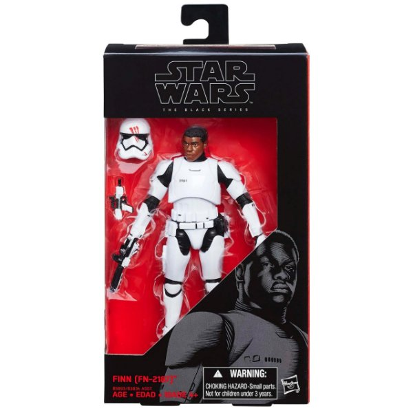 Boneco Star Wars The Force Awakens The Black Series - Finn FN-2187