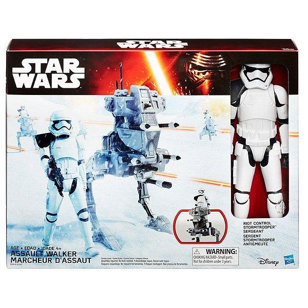 Veículo com boneco Star Wars Episode Vii Assault Walker