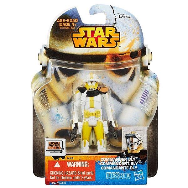 Boneco Star Wars Rebels Saga Legends - Comandante BLY