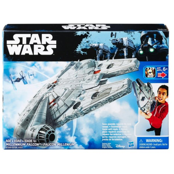 Veículo Value Star Wars Episode VII Millenium Falcon