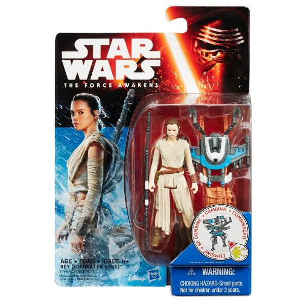 Boneco Star Wars The Force Awakens - Rey Starkiller Base