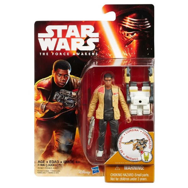 Boneco Star Wars The Force Awakens - Finn Jakku