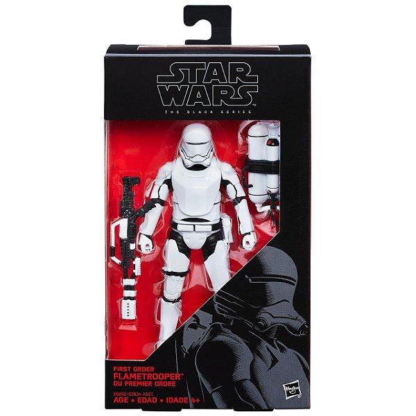 Boneco Star Wars The Force Awakens The Black Series - First Order Flametrooper