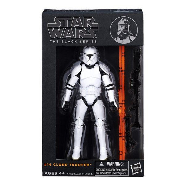 Boneco Star Wars The Black Series - Clone Trooper