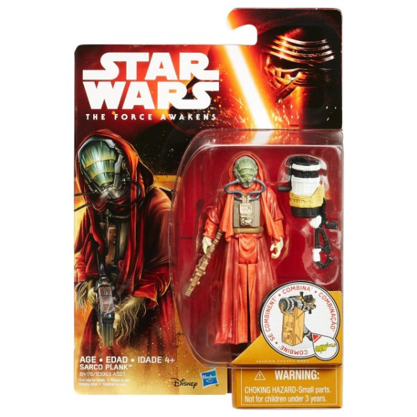 Boneco Star Wars The Force Awakens - Sarco Plank