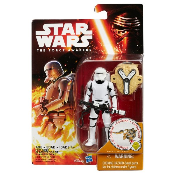 Boneco Star Wars The Force Awakens - First Order Flametrooper