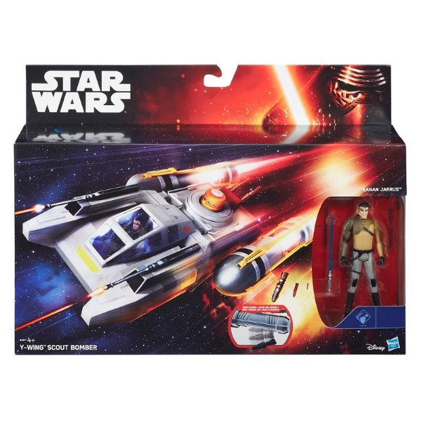 Star Wars Episódio VII - Veículo Class I Wing Scout Bomber