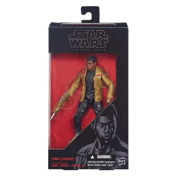 Boneco Star Wars The Force Awakens The Black Series - Finn Jakku