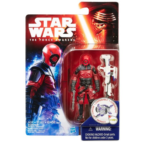 Boneco Star Wars The Force Awakens - Guavian Enforcer