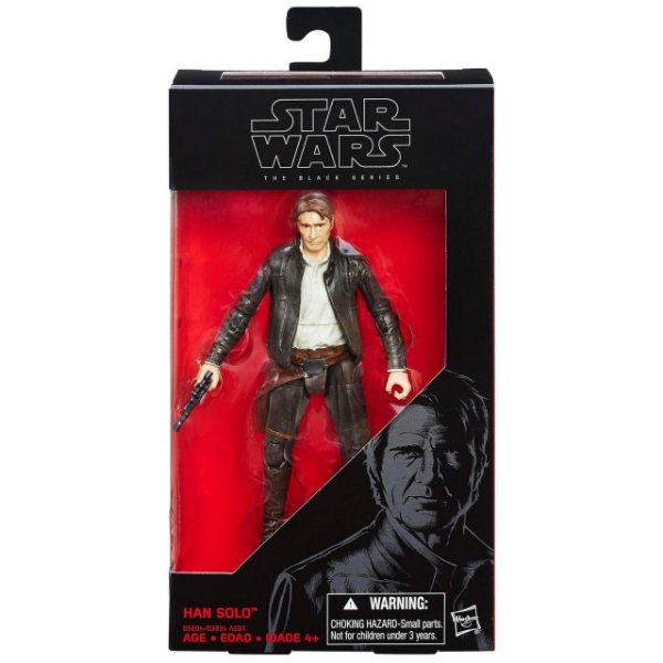 Boneco Star Wars The Force Awakens The Black Series - Han Solo