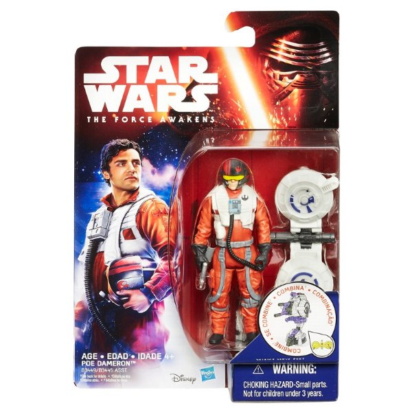 Boneco Star Wars The Force Awakens - Poe Dameron