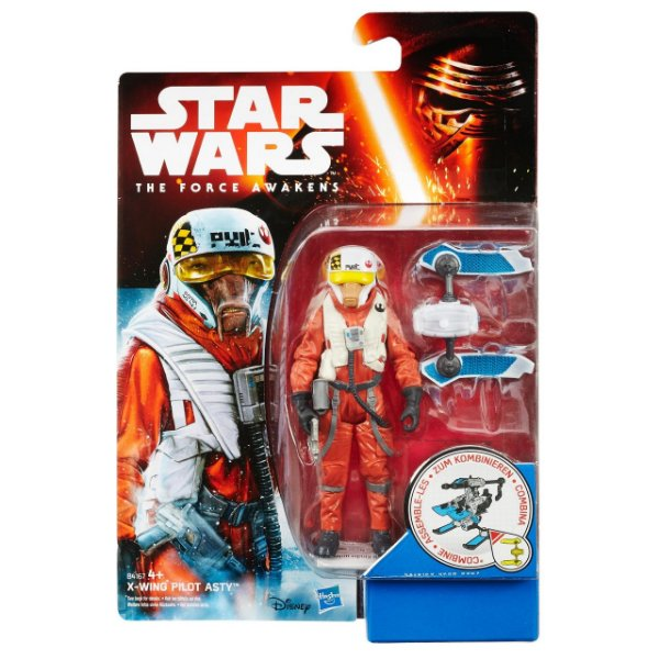 Boneco Star Wars The Force Awakens - X-Wing Pilot