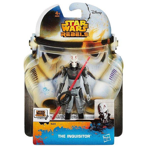 Boneco Star Wars Rebels Saga Legends - The Inquisitor