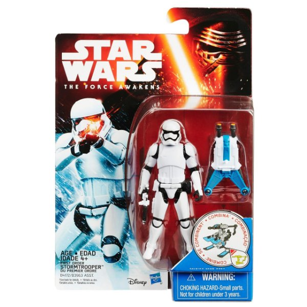 Boneco Star Wars The Force Awakens - First Order Stormtrooper