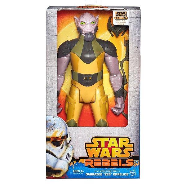 Boneco com Acessório Star Wars Rebels 30cm - Garrazeb Orrelios