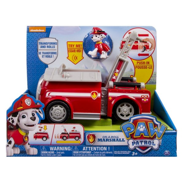 Patrulha Canina - Veículo de luxo On-A-Roll Marshall