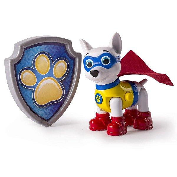 Patrulha Canina - Boneco com Distintivo Apollo