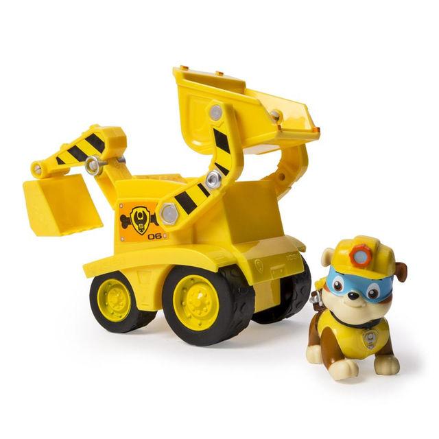 Patrulha Canina - Boneco com Veículo Rubble' s Dump Truck