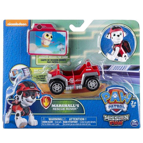 Patrulha Canina Missão Patinhas Marshall's Rescue Rover