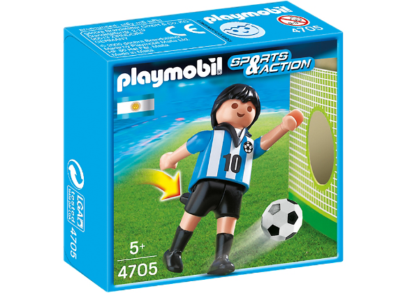Playmobil 4705 - Jogador de Futebol - Argentina