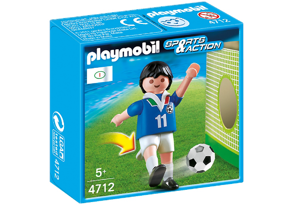 Playmobil 4712 - Jogador de Futebol - Italia
