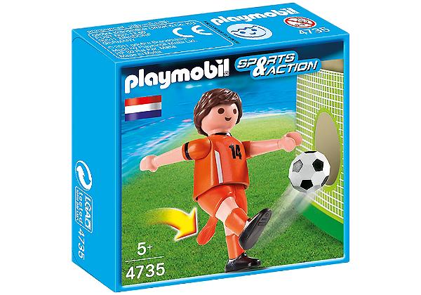 Playmobil 4735 - Jogador de Futebol - Holanda