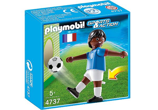Playmobil 4737 - Jogador de Futebol - França 2
