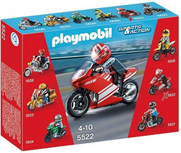 Playmobil 5522 - Motos Colecionáveis