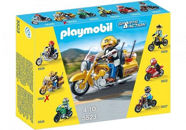 Playmobil 5523 - Motos Colecionáveis