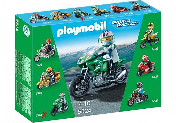 Playmobil 5524 - Motos Colecionáveis