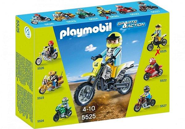 Playmobil 5525 - Motos Colecionáveis