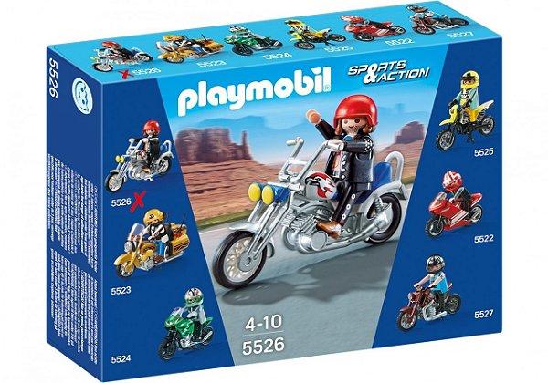 Playmobil 5526 - Motos Colecionáveis