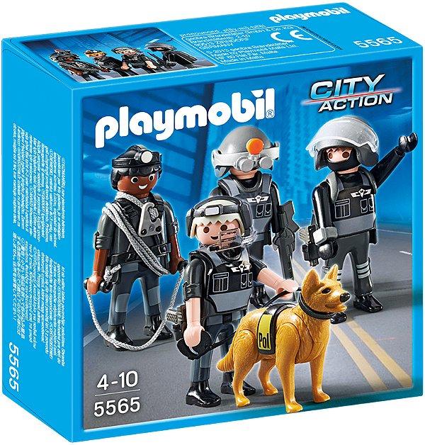 Playmobil 5565 - Polícia equipe tática