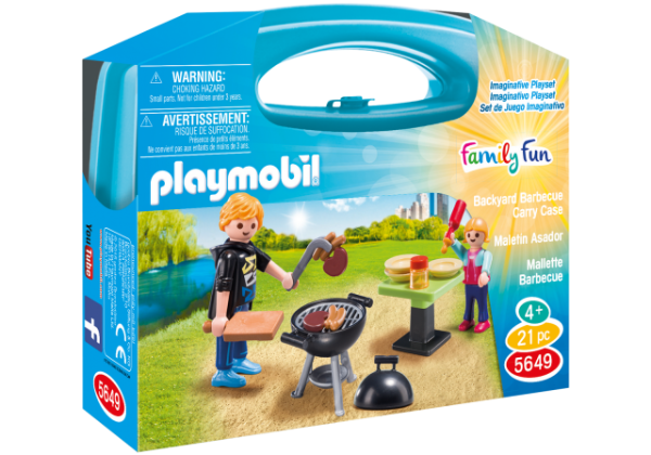 Playmobil 5649 - Maleta Churrasco
