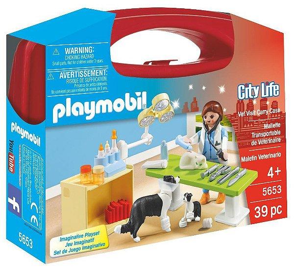 Playmobil 5653 - Maleta de Veterinário
