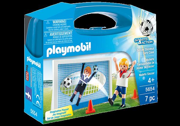 Playmobil 5654 - Maleta Futebol