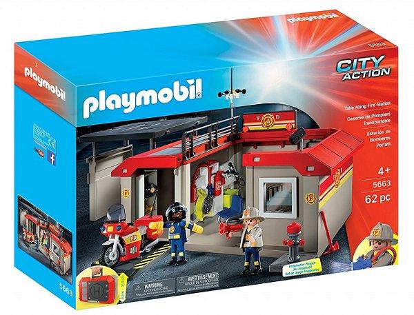 Playmobil 5663 - Posto de Bombeiro