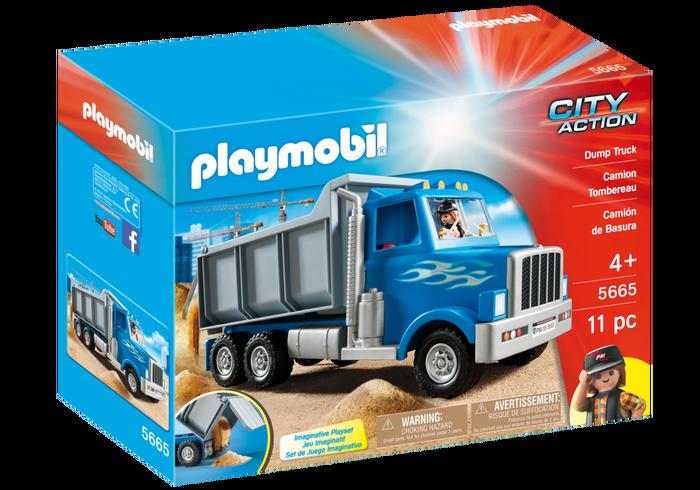 Playmobil 5665 - Caminhão Basculante
