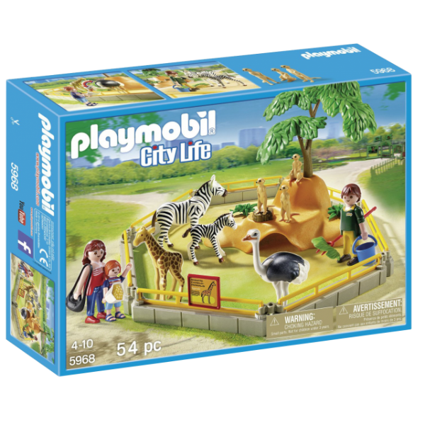 Playmobil 5968 - Animais Silvestres No Cercado