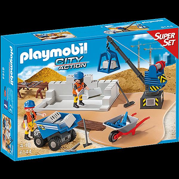 Playmobil 6144 - Super Set Construção