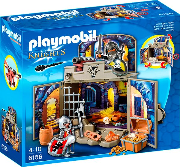 Playmobil 6156 - Playbox Meu Esconderijo Secreto com Tesouro