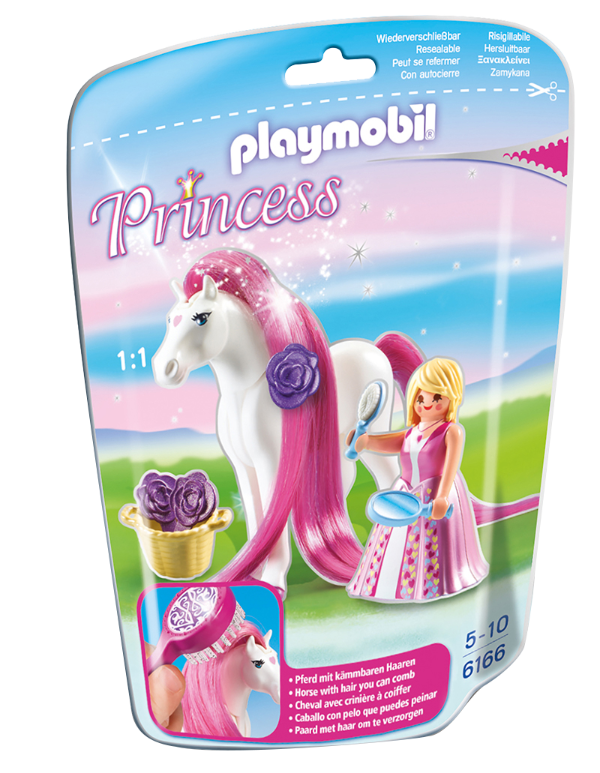 Playmobil 6166 - Soft bags Princesas Com Poney