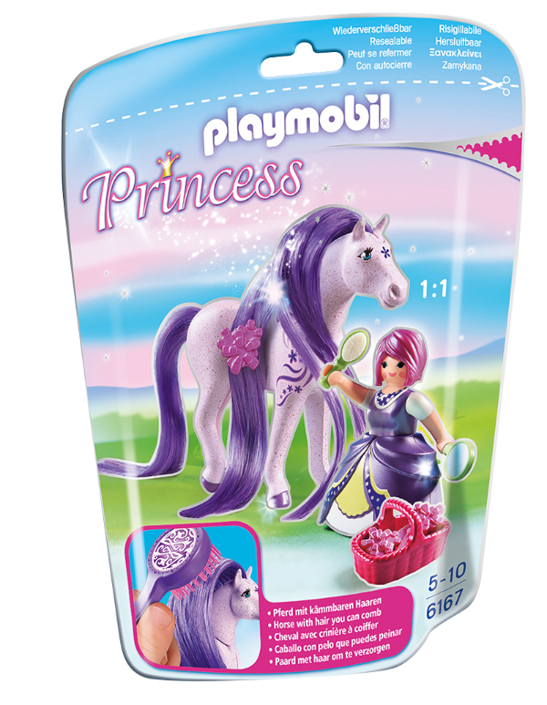 Playmobil 6167 - Soft bags Princesas Com Poney