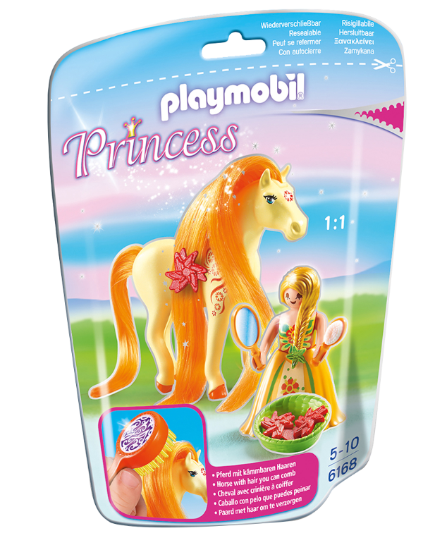 Playmobil 6168 - Soft bags Princesas Com Poney