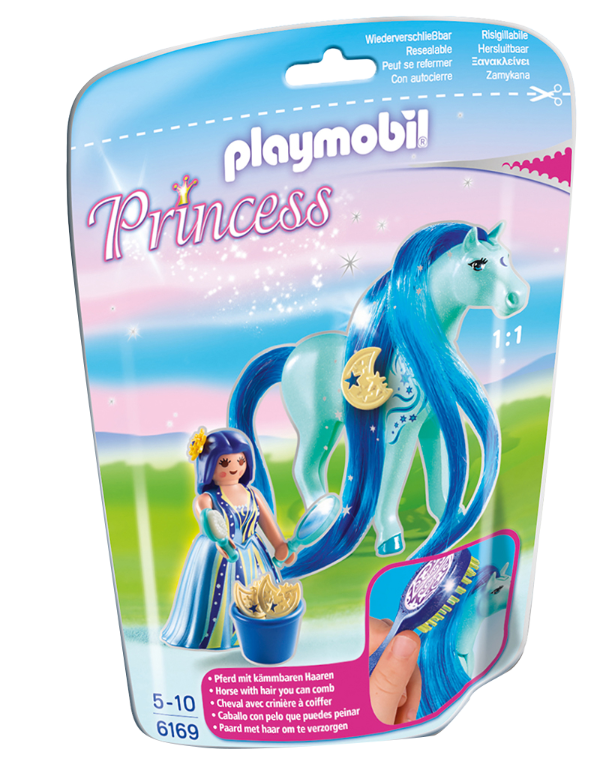 Playmobil 6169 - Soft bags Princesas Com Poney