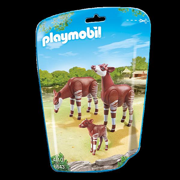 Playmobil 6643 - Saquinho Animais Do Zoológico