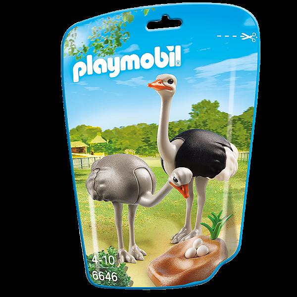 Playmobil 6646 - Saquinho Com Animais Do Zoo Pequenos
