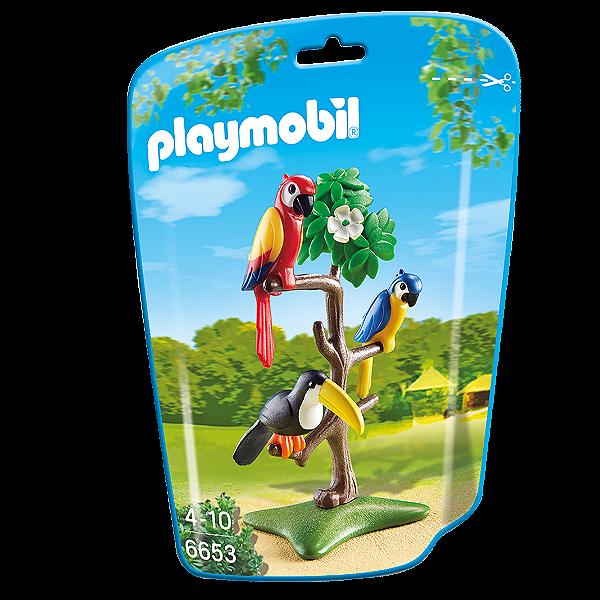 Playmobil 6653 - Saquinho Com Animais Do Zoo Pequenos