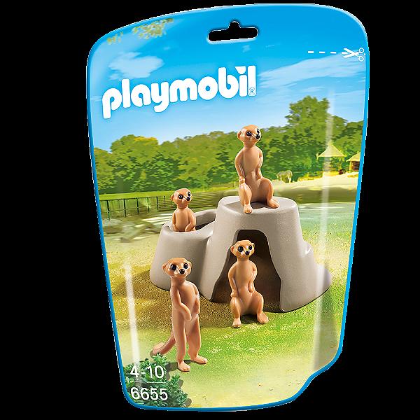 Playmobil 6655 - Saquinho Com Animais Do Zoo Pequenos