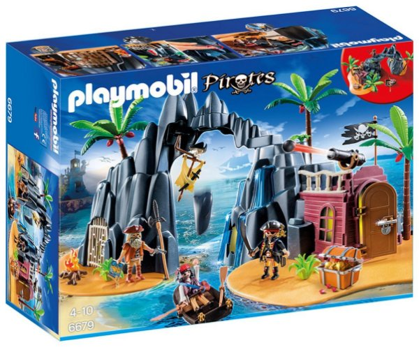 Playmobil 6679 - Ilha do Tesouro dos Piratas